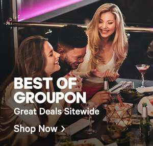 Groupon 20% off everything in Goods