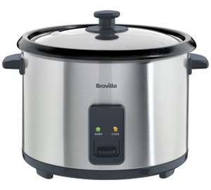 Breville ITP181 1.8L Rice Cooker And Steamer - St/Steel @ Argos ...