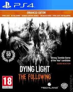Dying Light:The Following Enhanced Edition (NEW) PS4 - £13.49 @ musicMagpie