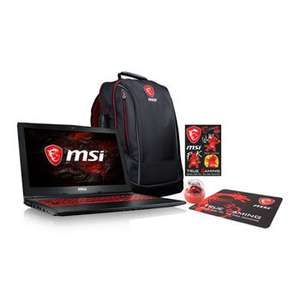 "MSI 15"" GL62M 7RDX Full HD Core i7 GTX 1050 Gaming Laptop Bundle £749.99 Delivered @ Scan"