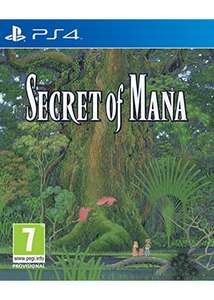 [PS4] Secret of Mana – £16.85 – Base discount offer