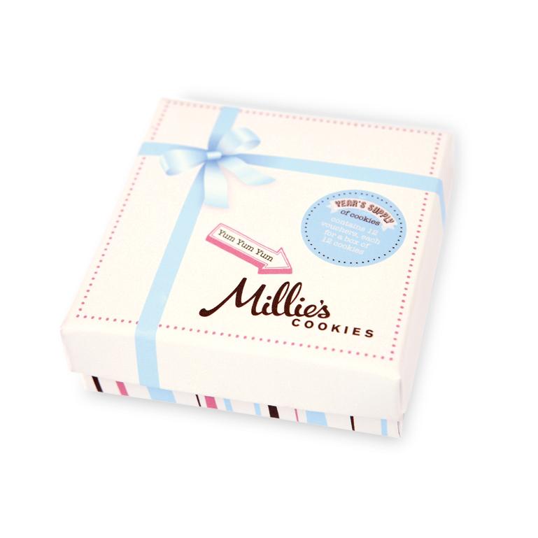144 Millie's Cookies £49.99