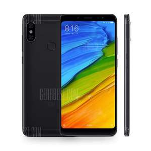Xiaomi Redmi Note 5 32gb global version in black @ gearbest - £141.48