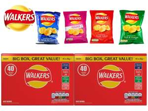 Walkers Crisps Variety Box - 40 for £3.58 @ Costco (from 14/05)