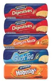 McVitie's Everyday Biscuit Selection - 5 packs for £2.99 @ Costco (from 14/05)