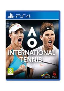 PS4 Tennis discount offer