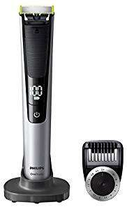 Philips OneBlade Pro Hybrid Trimmer & Shaver with 14-Length Comb (UK 2-Pin Bathroom Plug) - Frustration-Free-Packaging - QP6520/30 Amazon £54.99