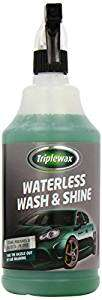 Triplewax Waterless Wash and shine on £5 at Asda