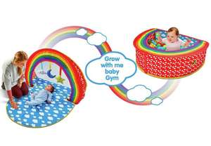 Chad Valley Rainbow 2-in-1 Baby Gym & Ball Pit now £14.99 @ Argos