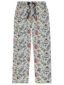 * Low Stock * Looney Tunes men's lounge pants size M now £5 @ Asda