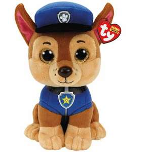50% off Ty Paw Patrol Soft Toys Chase Marshall or Skye £7.50 with Code @ The Entertainer Toy Shop