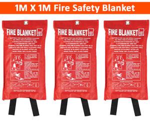 Two 1m x 1m Fire Blanket £7.99 Del @ eBay / smile-packaging