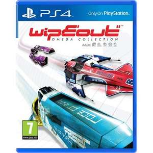 Pre-owned Wipeout Omega Collection PS4 / VR compatible £9.59 at Music Magpie