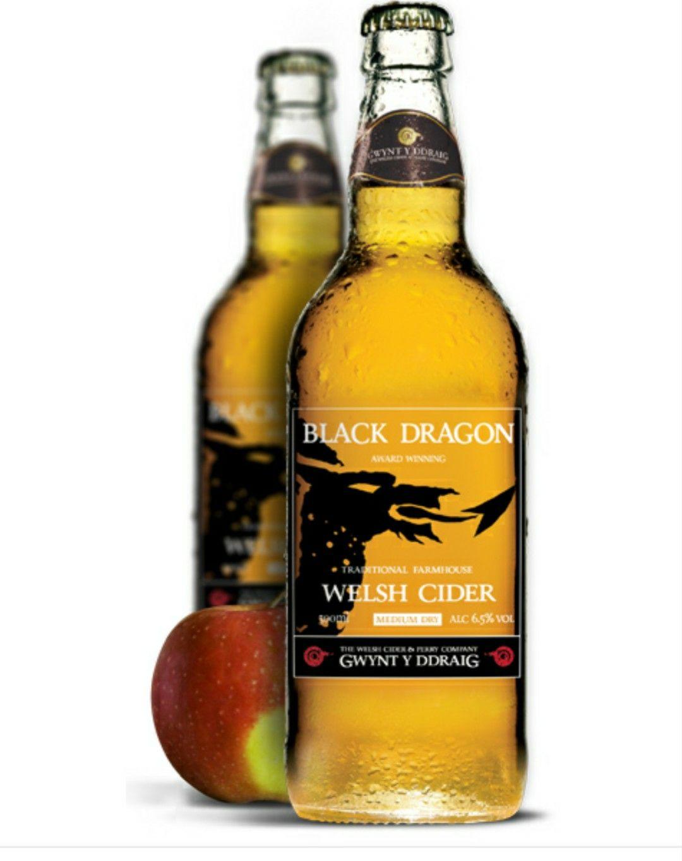 Gwynt y ddraig black dragon cider 3 Bottles for £5.25 instore @ Tesco Mold ( North Wales)