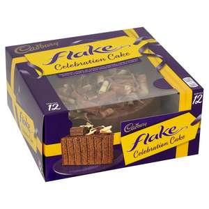 Cadbury's flake cake served 12 £3.99 in Fulton foods