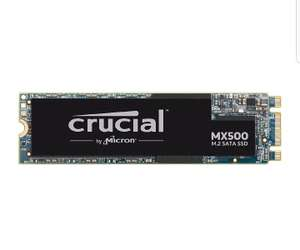 Crucial MX500 M.2 500GB SATA SSD at Amazon for £99.63