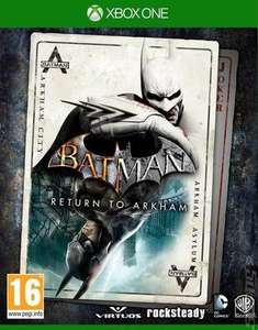 batman return to arkham xbox one used @ music magpie for £9.59