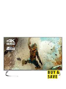 Get ready for the World Cup! Panasonic TX-40EX700B 40 inch, 4K Ultra HD Certified HDR, Freeview Play, Smart LED TV at Very for £384.94