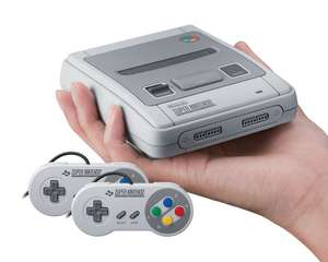 Nintendo Classic Mini Console SNES for £59 delivered @ Amazon (using instore Top-Up)