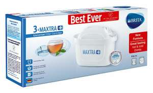 Brita Maxtra plus filter cartridges  3 pk £10.49 (Prime) / £14.48 (non Prime) at Amazon