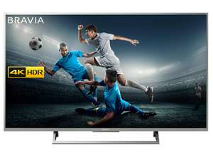 Sony Bravia KD55XE7073SU 4K HDR Smart TV (X-Reality PRO for Enhanced Clarity, Texture and Detail Picture Quality, 2017 Model) for £549 delivered using code @ Co-Op Electrical