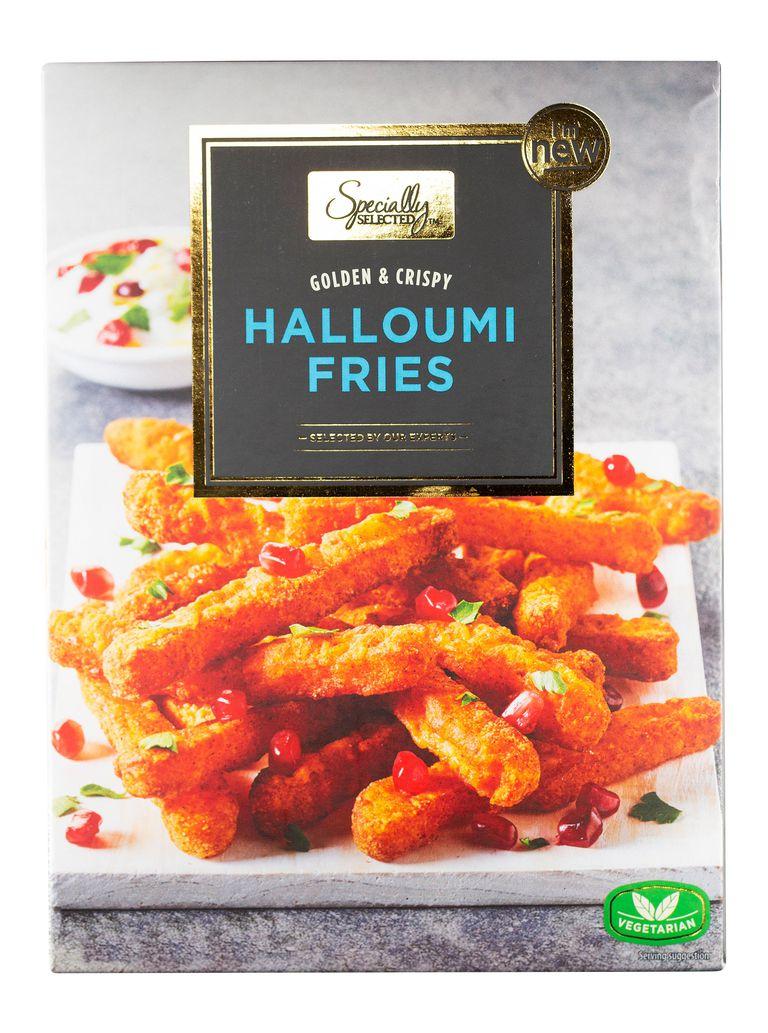 Aldi 190g Golden & Crispy Halloumi Fries for £1.99 (from 18/05)