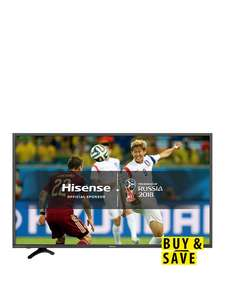 Hisense H49N5500UK 49 Inch, 4K Ultra HD, HDR, Freeview Play, Smart TV £321.99 delivered @ Very using 12 months BNPL