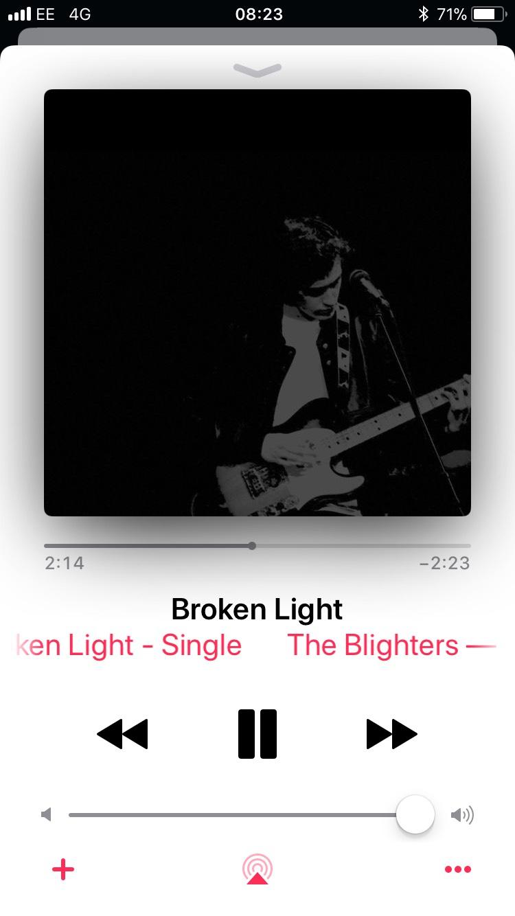 The Blighters - Broken Light, NEW SINGLE ONLY 79p
