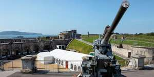 Entry to Historic Dorset Fort for 2 Adults with Drink now £10 / 1 A + 1 C £7.50 / Family of 4 Ticket £13 via Travelzoo