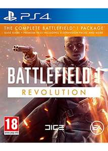 Battlefield 1 - Revolution Edition (PS4 / Xbox One) now £15.85 delivered @ Base
