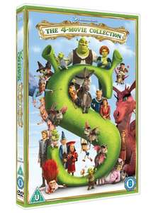 Shrek/Shrek 2/Shrek the Third/Shrek: Forever After - The Final... [DVD] £6.30 @ zoom