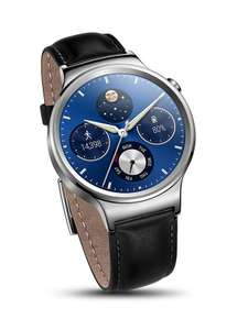 Huawei W1 Stainless Steel Classic Smartwatch with Leather Strap £159.90 @ Amazon