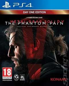 [PS4] Metal Gear Solid V: The Phantom Pain - £3.75 (Pre-owned) - MusicMagpie