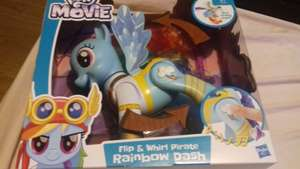 My little pone flip and whirl rainbow dash reply  £10 instore @ Asda