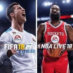 EA Sports FIFA 18 & NBA Live 18: The One Edition Bundle £24.99 – PSN