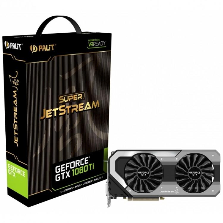 Palit GTX 1080Ti Super Jetstream 11264MB GDDR5X GPU £698.99 @OCUK