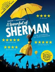 £2 admin charge per ticket - A Spoonful of Sherman - Playhouse Theater Weston Super Mare 14/15th May