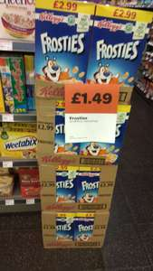 500g Frosties £1.49 SPAR Manchester Piccadilly Plaza / Gardens