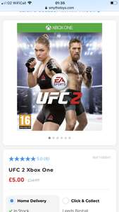 UFC 2 Xbox One at Smyths Toys for £5