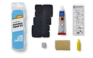 Weldtite Unisex Puncture Repair Kit, Black, One Size - Now £1.97 + Free Delivery at Amazon / Dispatched from and sold by Baldwins Cycles.
