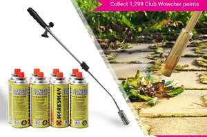 Weed Burning Wand - 4 (£16.98 Delivered) or 8 (£20.98 Delivered) Gas Canisters! @ Wowcher