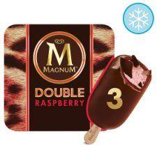 Magnum Double Raspberry Ice Cream 3 X88ml - £1.94 @ Tesco