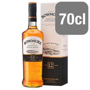 Bowmore 12 Year Old Whisky - £26 @ Tesco