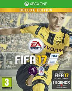 Fifa 17 deluxe edition xb1  £4.99 @ GAME with free delivery
