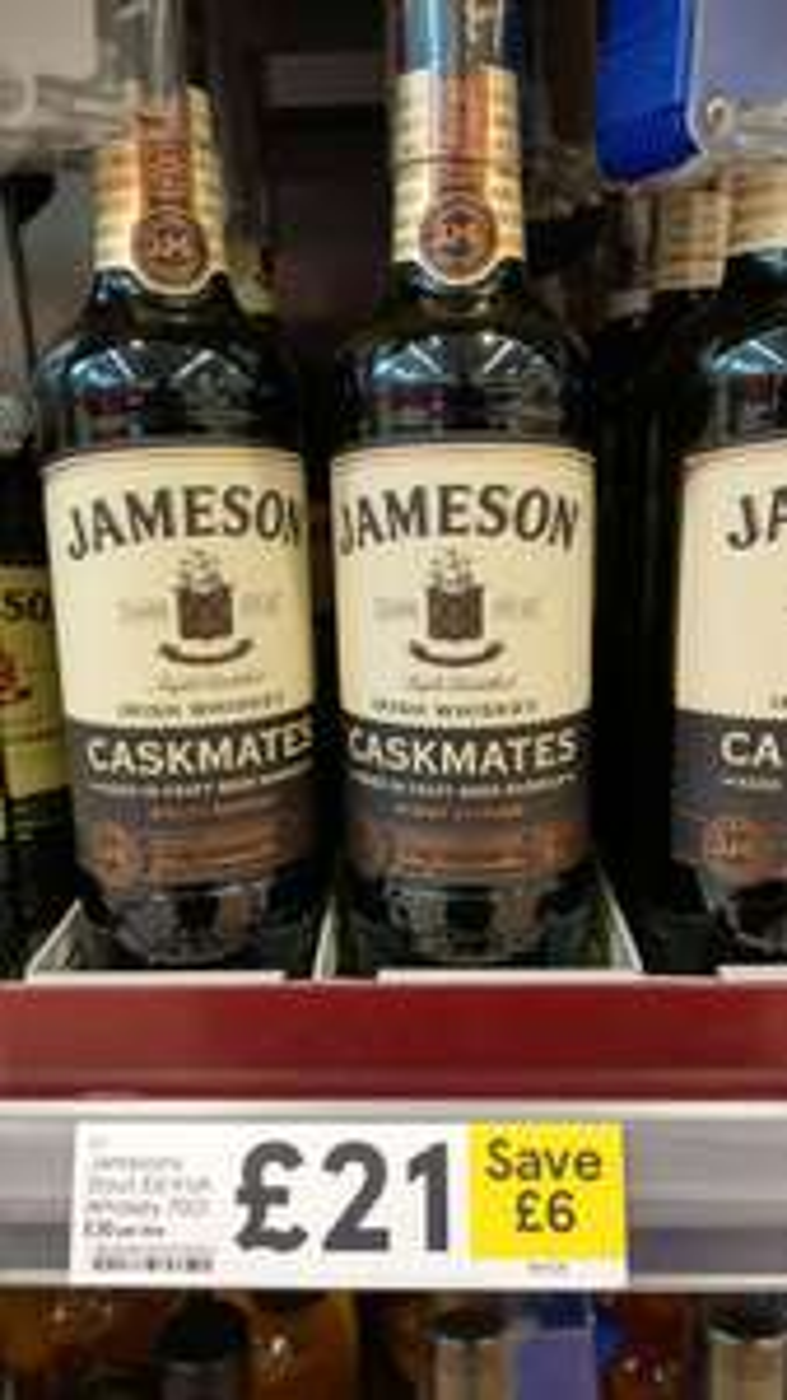 Jameson Caskmates - £21 @ Tesco
