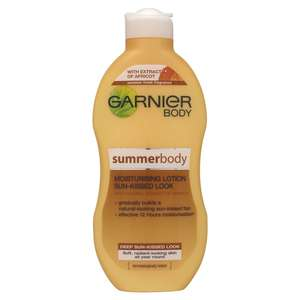 Garnier Summer Body Dark Gradual Tan Moisturiser 250ml £3 @ Wilkos