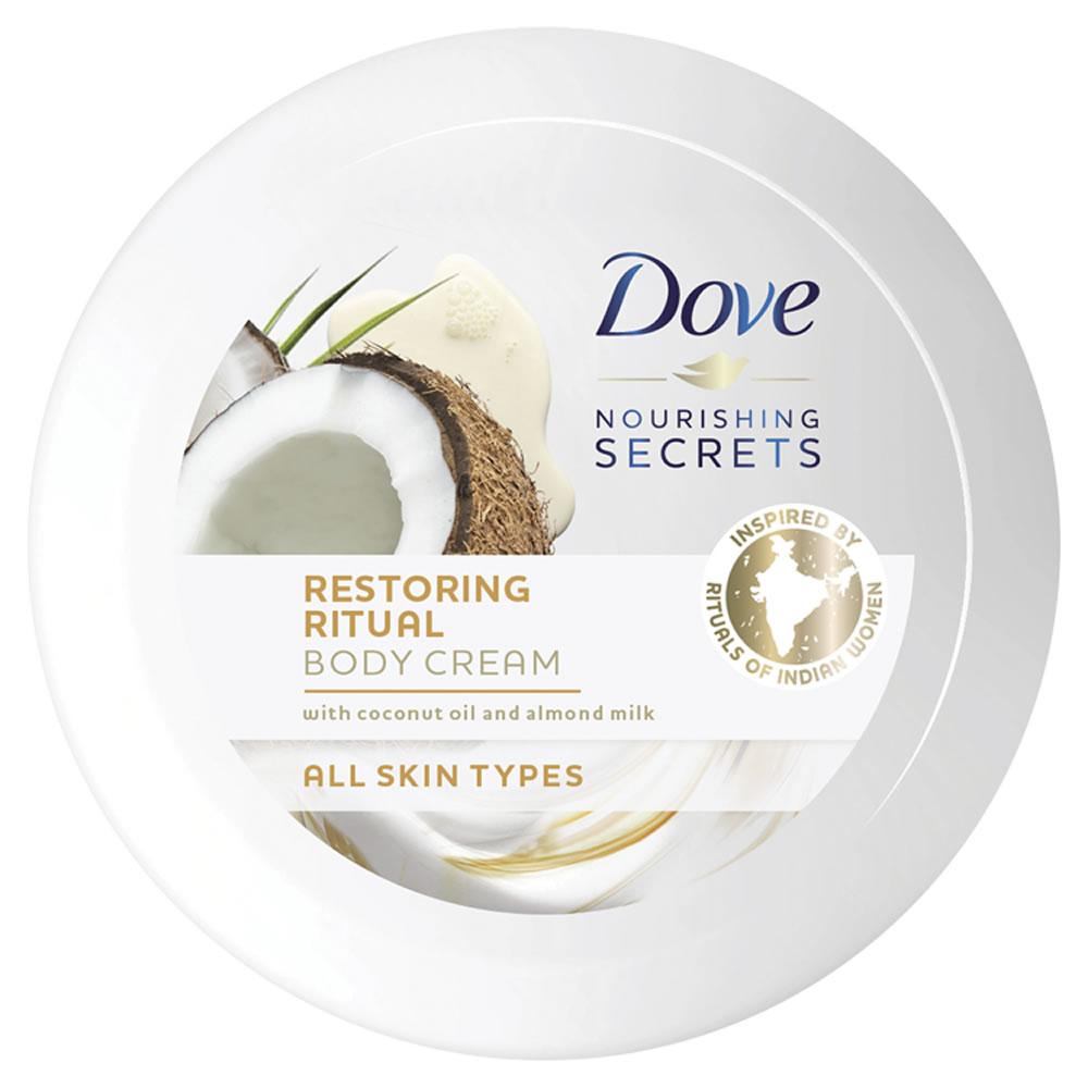 Dove Coconut Oil and Almond Body Cream 250ml £3 Saving £3 @ Wilkos
