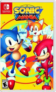 Sonic Mania Plus Nintendo Switch Pre Order £24.95 @ Coolshop