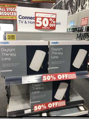 SAD light box - £30 instore @ Maplin