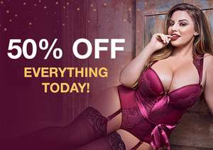 Offer Stack - 50% off all items via link @ Lovehoney - stacks with upto 50% Off lingerie + extra 20% Off multi-buy offers